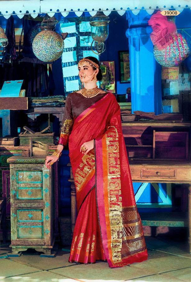 Sethnic Wholesale banarasi weaving silk saree 39002 online dealer