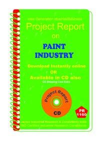 Paint Industry establishment project Report ebook