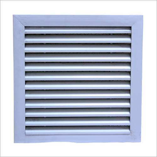 Extruded Aluminum Fresh Air Louvers
