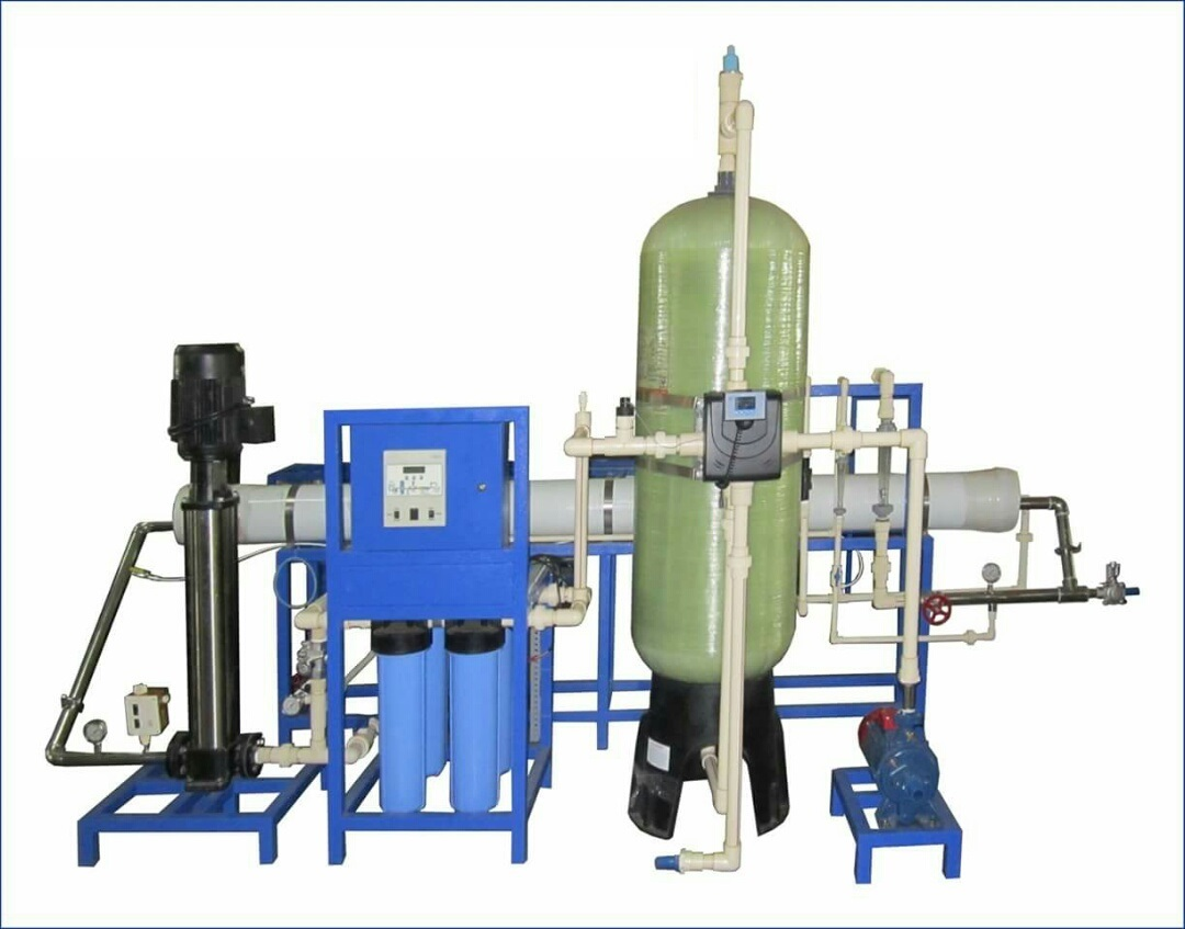 2000 LPH Fully Automatic RO System