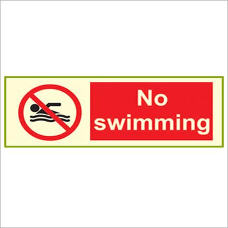 Aqua Safety Signage
