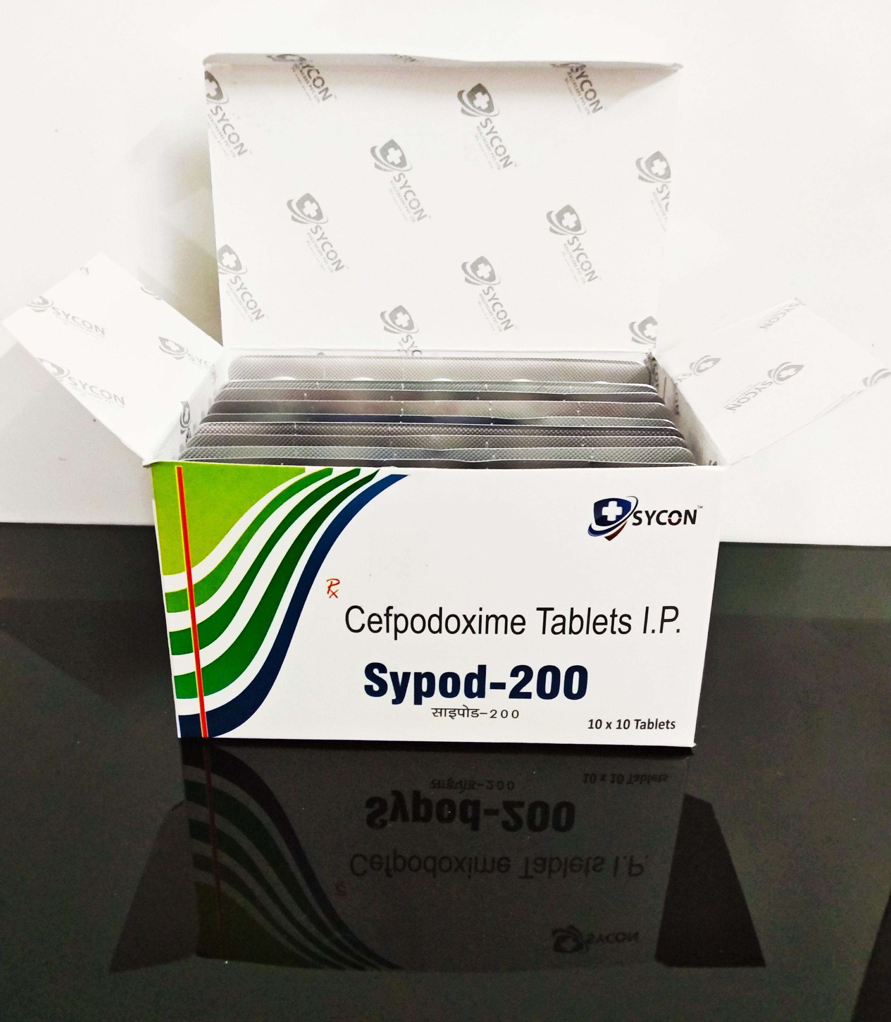 Cefpodoxime  200 mg DT Tablet