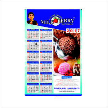 Wall Calender Offset Printing Service