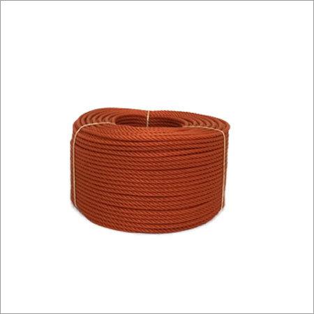 12 MM Orange Color PE Rope