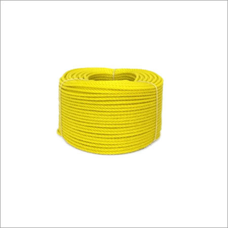 12 MM Yellow Color PE Rope