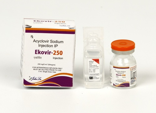 Acyclovir Sodium 250 Mg Injection