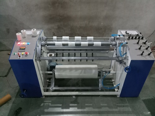 Stretch Film Slitter Rewinder Machine