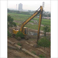 Long Boom Excavator for hiring