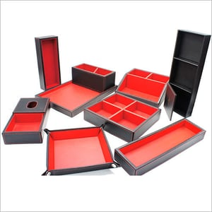Hotel In-Room leather products