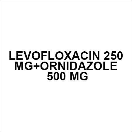 Levofloxacin 250 mg+Ornidazole 500 mg