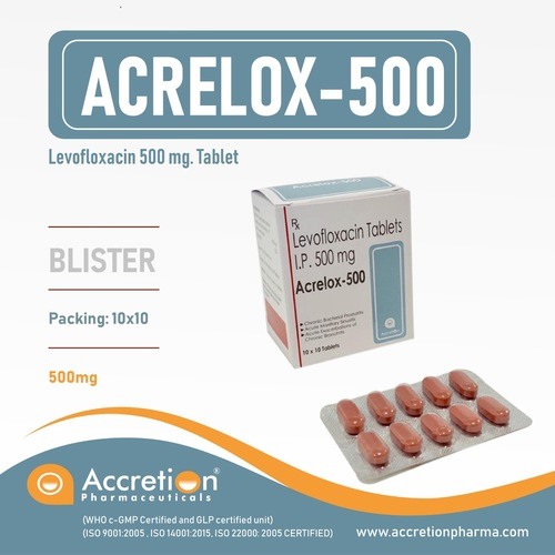 500 mg Levofloxacin
