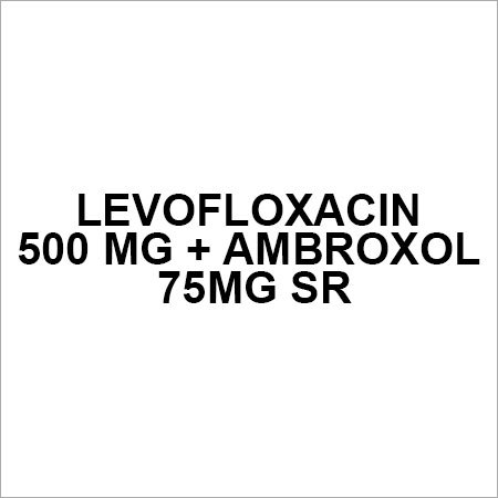 Levofloxacin 500 mg + Ambroxol 75mg SR