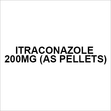 Itraconazole 200mg (AS PELLETS)