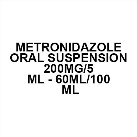 Metronidazole Oral suspension 200mg 5 ml - 60ml 100 ml
