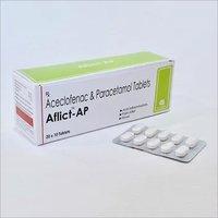 Aceclofenac 100mg+Paracetamol 325 mg