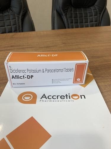 Diclofenac Potassium 50mg+Paracetamol 325mg
