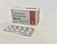 Diclofenac Potassium 50mg+Paracetamol 325mg+Seratiopeptidase(EC) 15mg