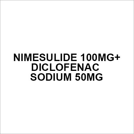 Nimesulide 100mg+Diclofenac sodium 50mg