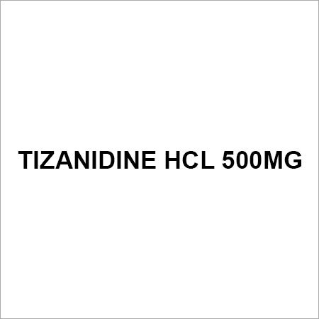 Tizanidine HCL 500mg