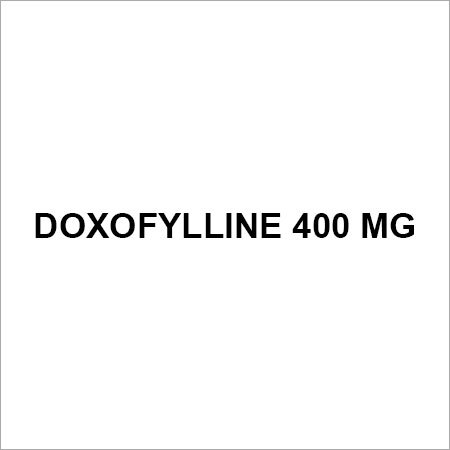 Doxofylline 400 mg