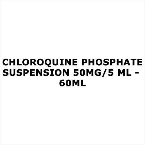 Chloroquine Phosphate Suspension 50mg 5 ml - 60ml