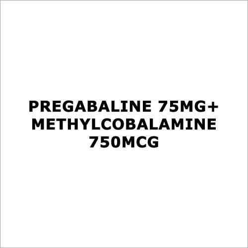 Pregabaline 75mg+Methylcobalamine 750mcg