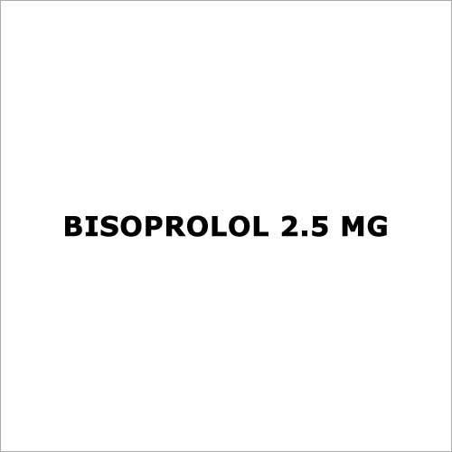 Bisoprolol 2.5 mg