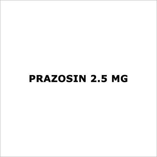 Prazosin 2.5 mg