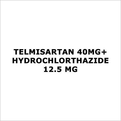 Telmisartan 40mg+Hydrochlorthazide 12.5 mg