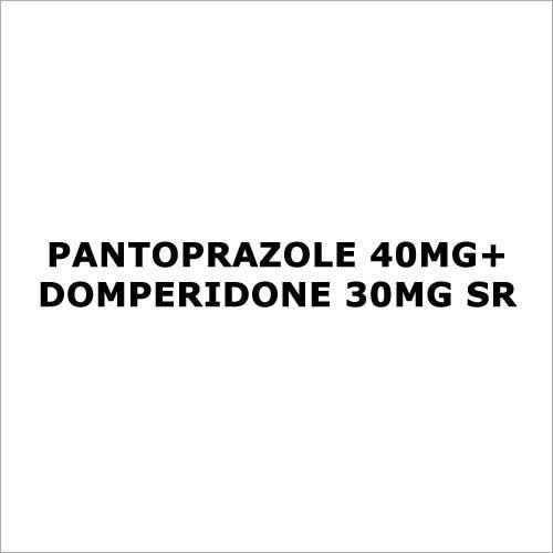 Pantoprazole 40mg+Domperidone 30mg SR
