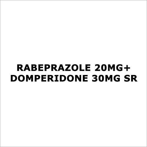 Rabeprazole 20mg+Domperidone 30mg SR