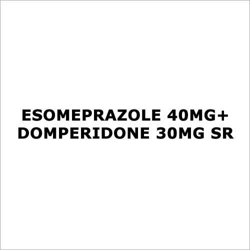 Esomeprazole 40mg+Domperidone 30mg SR