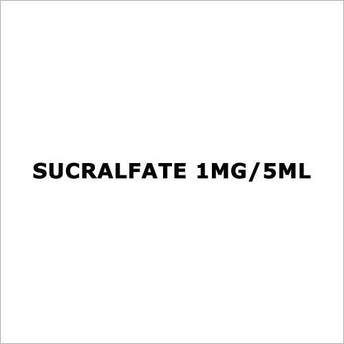 Sucralfate 1mg 5ml