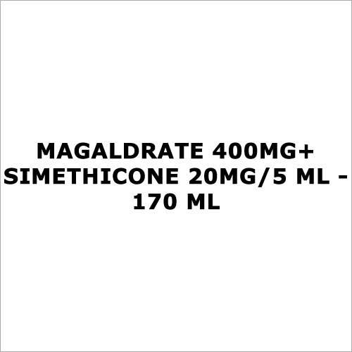 Magaldrate 400mg+Simethicone 20mg 5 ml - 170 ml