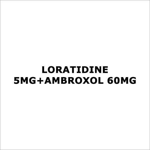 Loratidine 5mg+Ambroxol 60mg