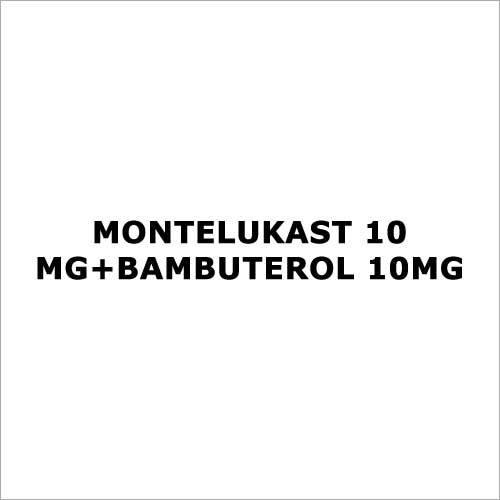 Montelukast 10 mg+Bambuterol 10mg
