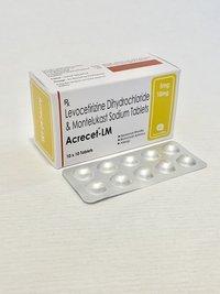 Montelukast 10 mg+Levocetrizine 5mg