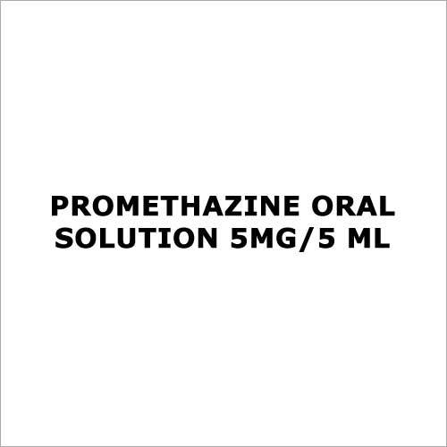 Promethazine oral Solution 5mg 5 ml