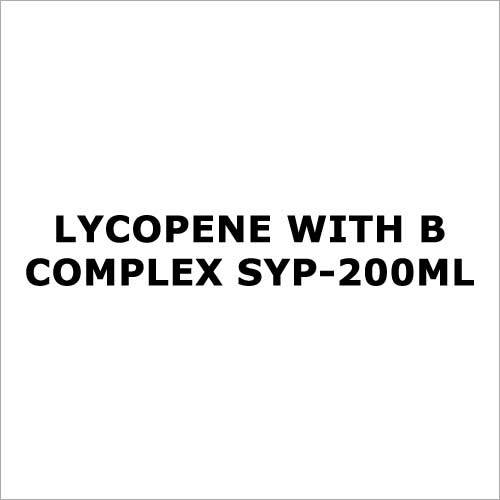 Lycopene with B complex syp-200ml