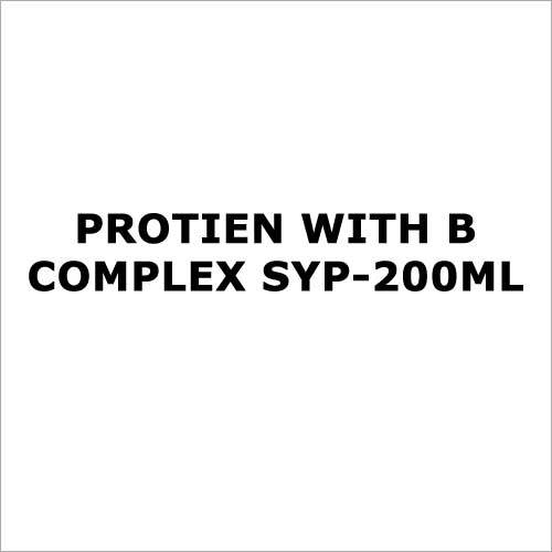 Protien with B complex syp-200ml