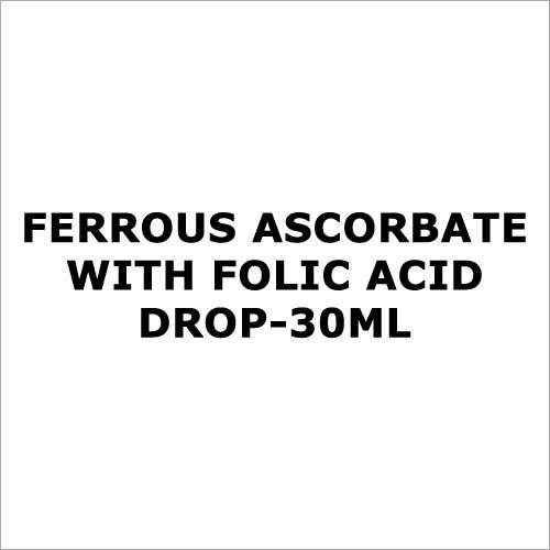 Ferrous Ascorbate with folic acid drop-30ml