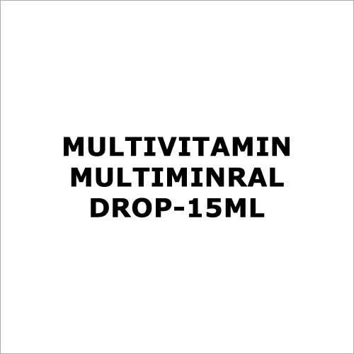 Multivitamin Multiminral drop-15ml