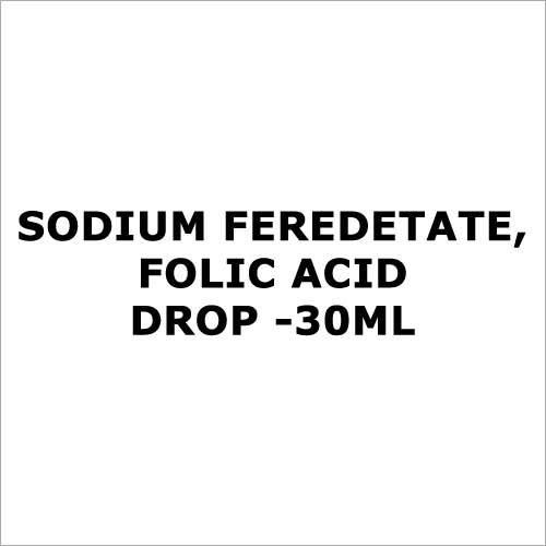 Sodium Feredetate,Folic Acid drop -30ml