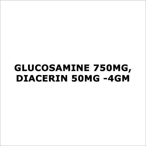 Glucosamine 750mg,Diacerin 50mg -4gm