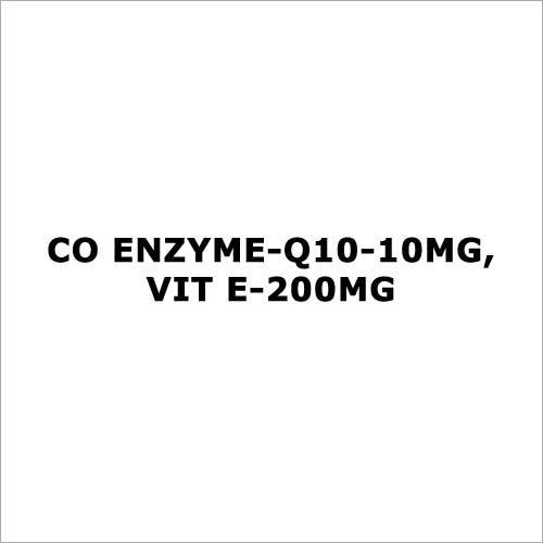 Co enzyme-Q10-10mg,Vit E-200mg