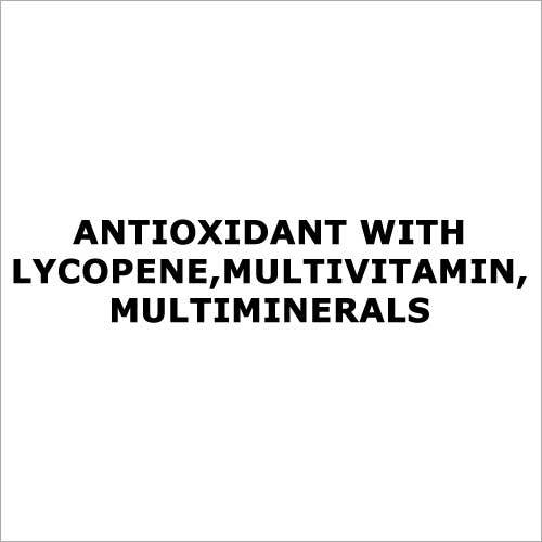 Antioxidant with lycopene,Multivitamin,Multiminerals