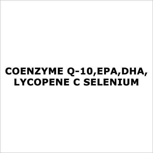 Coenzyme Q-10,EPA,DHA,lycopene C selenium