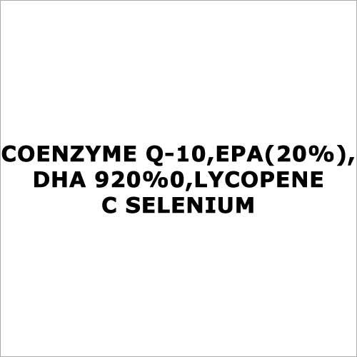 Coenzyme Q-10,EPA(20%),DHA 920%0,Lycopene C selenium