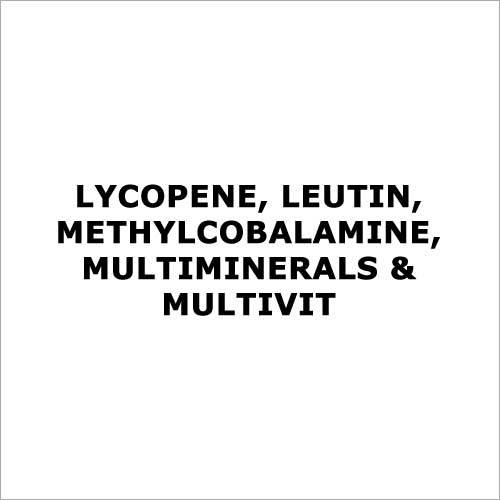 Lycopene, leutin,methylcobalamine,multiminerals & multivit