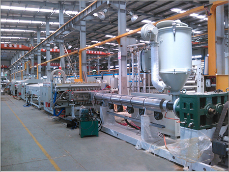 PP Holllow Sheet Machine